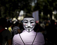 From Guy Fawkes to Anonymous