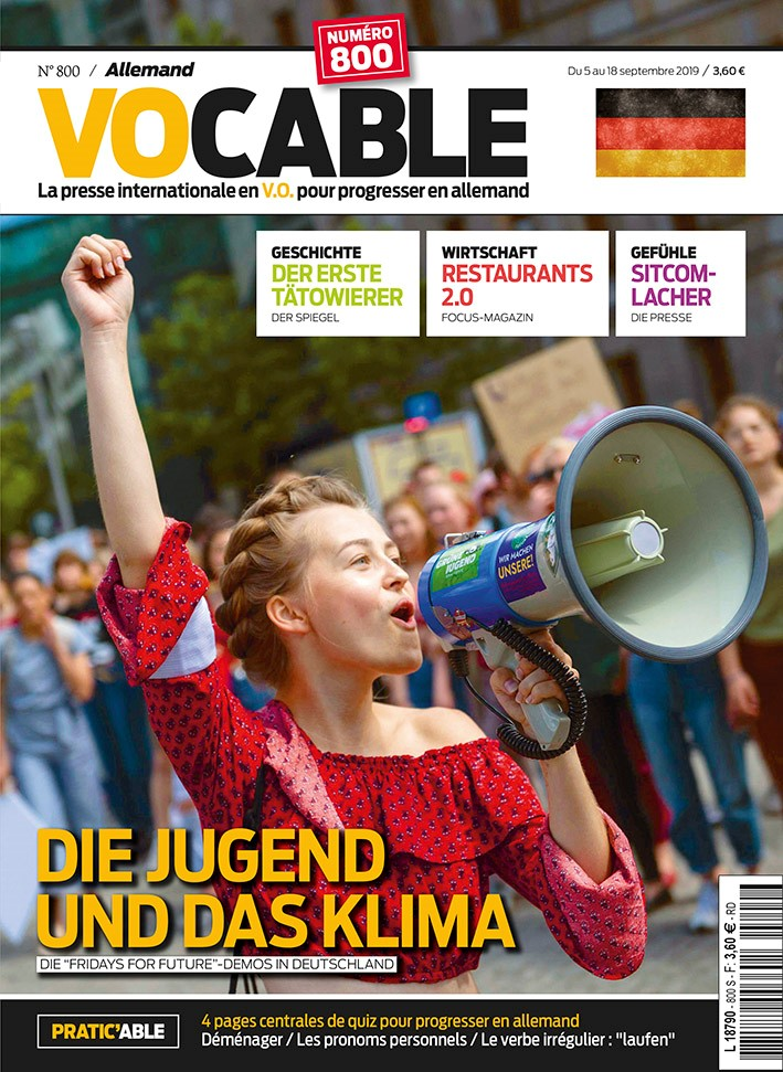 Le Magazine Vocable allemand