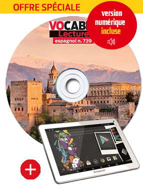 Les CD audio de lecture espagnol + la tablette tactile