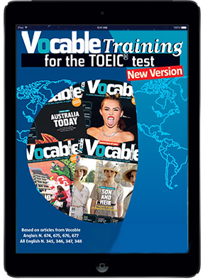 Vocable Training for the TOEIC<sup>©</sup> test