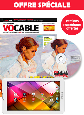 Pack lecture Vocable espagnol + la tablette tactile