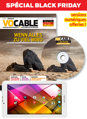 Pack lecture Vocable allemand + la tablette tactile