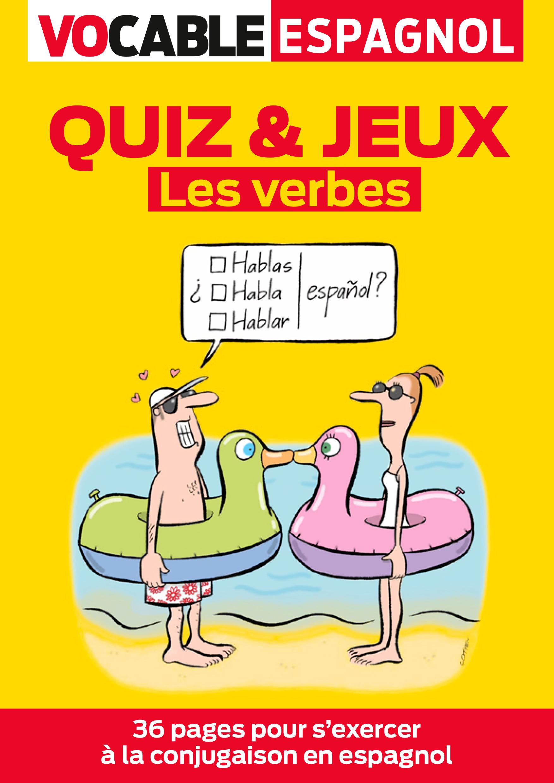 Quiz Jeux Espagnol Les Verbes