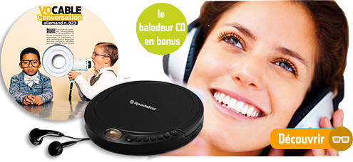 Pack audio conversation allemand